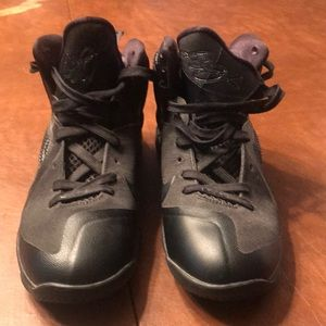 Other - Lebron 9 black out used mint condition